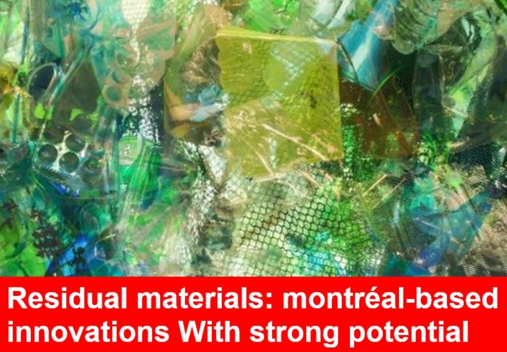 Ville de Montréal commends our innovative technology for the conversion of the waste material from the pulp and paper industry to value-added products